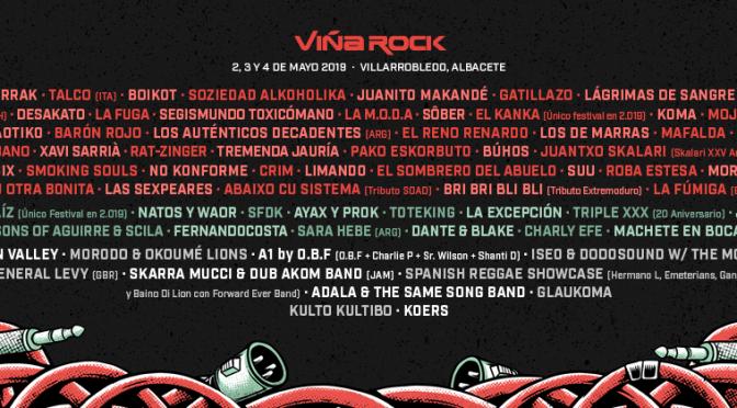 Última tanda de confirmaciones para ViñaRock 2019