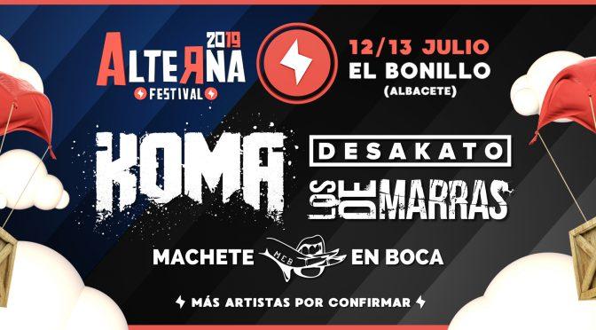 Primeros grupos confirmados para el Alterna Festival 2019