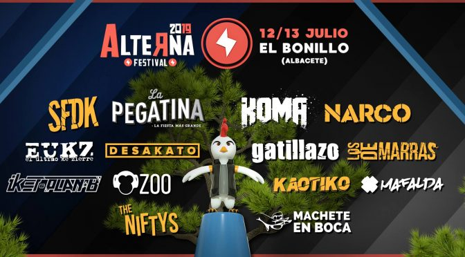 Cartel definitivo del Alterna Festival