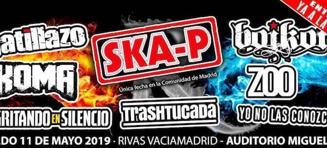 Rivas Rock 2019, el regreso de Ska-P