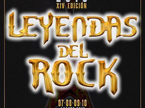 Nuevas confirmaciones para el Leyendas del Rock 2019
